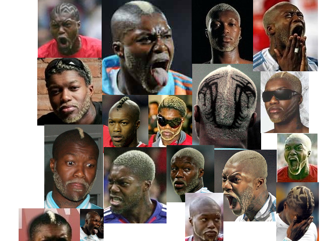 The many moods of Djibril Cissé