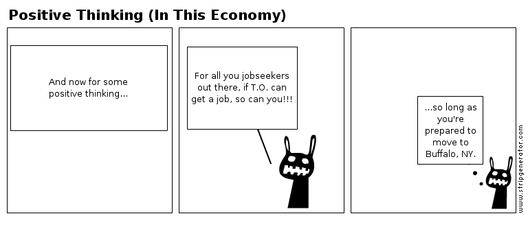 Positive Thinking (In This Economy) (Comic #2)
