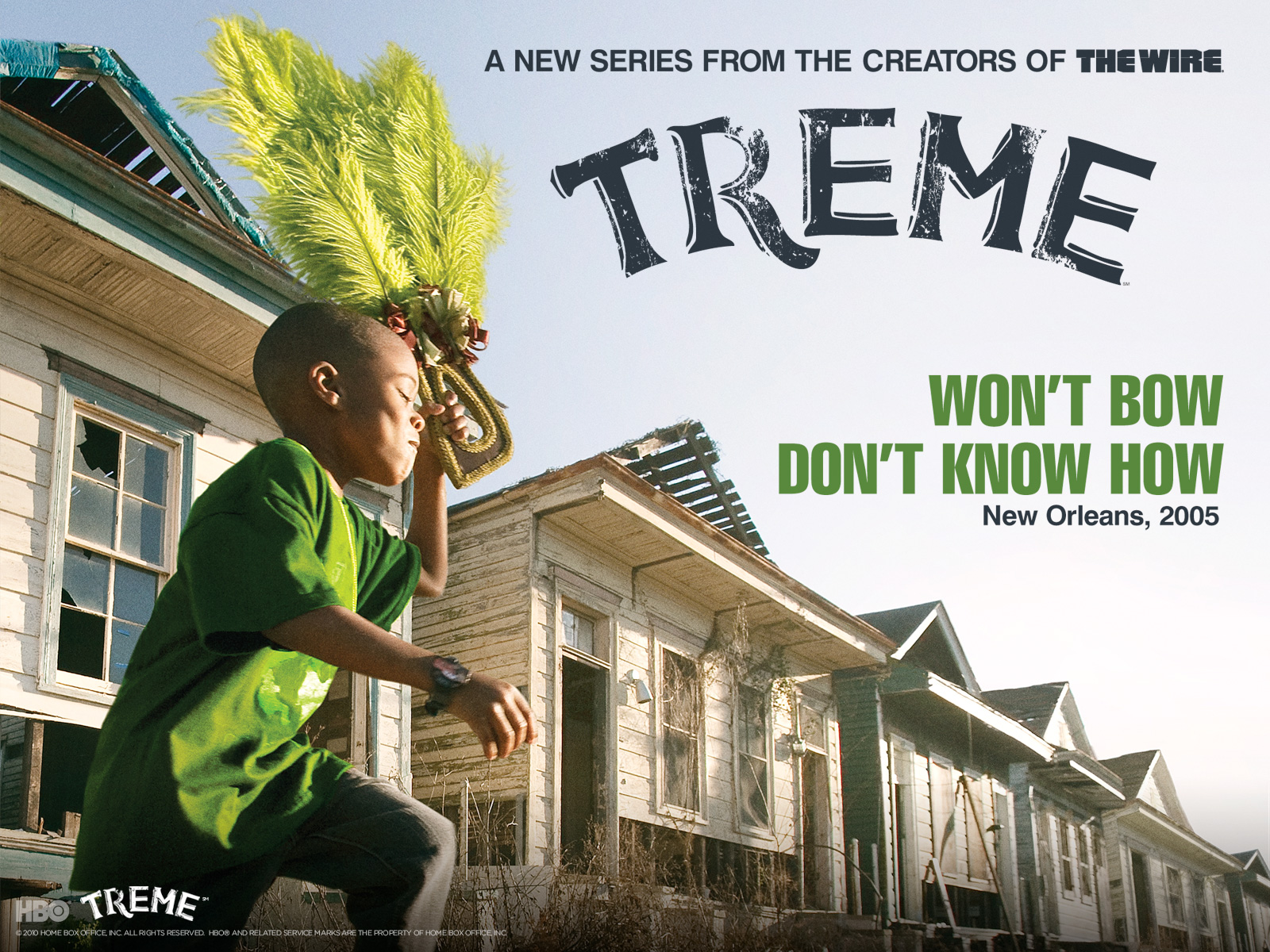 2 Sentence Review: Treme and/or The Wire