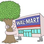 2 Sentence Review: Wal-Mart's Green Efforts