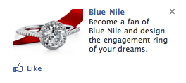 facebook ads / wedding rings